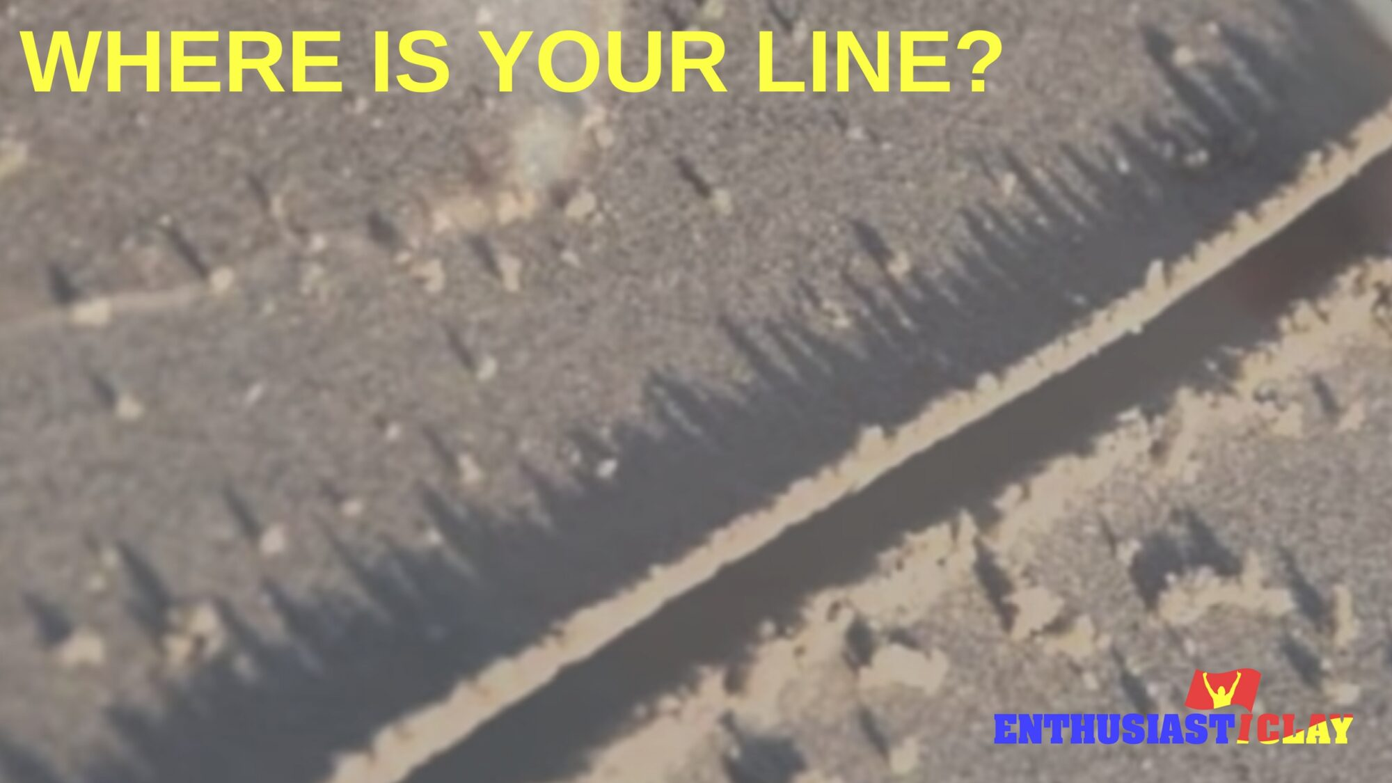 Where is your line?